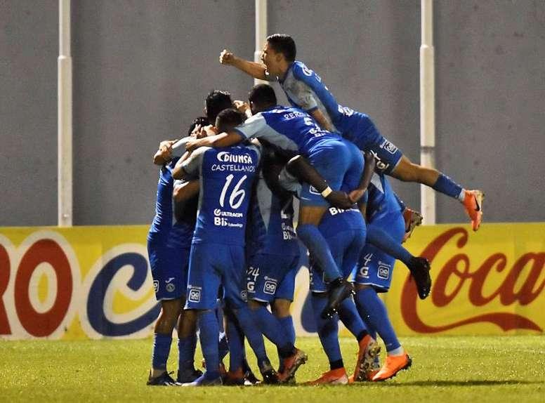 Motagua buscará la victoria ante Real de Minas. EFE