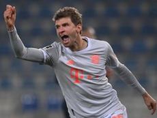 Müller y Lewandowski ponen al Bayern en órbita. EFE/Sascha Steinbach