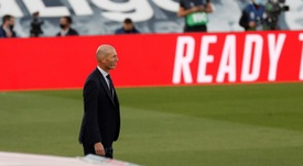 Zinédine Zidane est inquiet. EFE