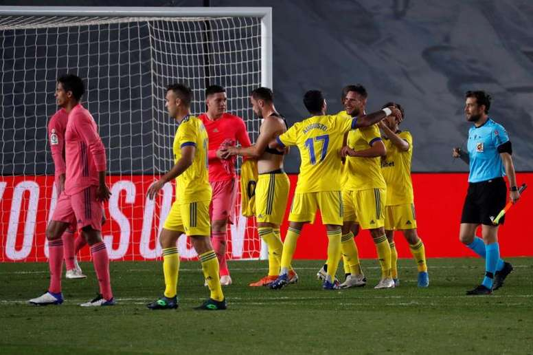 Otro rival modesto acabó con el Madrid un año después. EFE