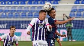 Alcaraz lamentó que al Valladolid se le escapara un 0-2 en Huesca. EFE