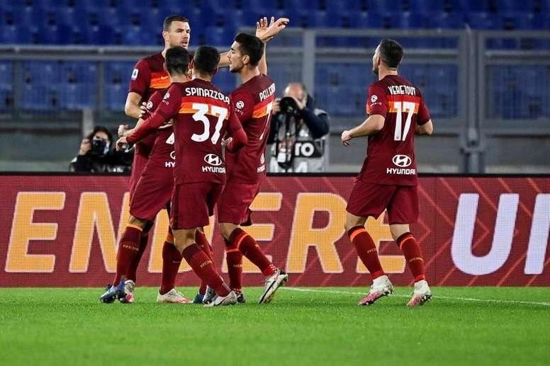 La Roma vince in rimonta. AFP
