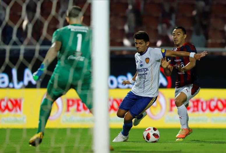 Cerro Porteño comenzó con victoria. EFE