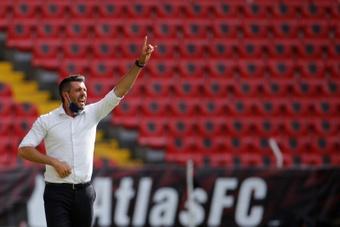Pezzolano reconoció que la falta de puntería les condenó ante Pumas. EFE