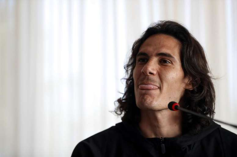 El Manchester United desea que Cavani se incorpore lo antes posible. EFE