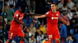 Maksimovic analizó el triunfo del Getafe sobre el Barça. EFE
