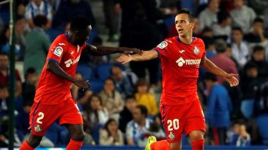 Bordalas has got Maksimovic back, but lost Damian Suarez. EFE