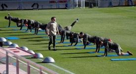 Simeone prepara una revolución en el once. EFE