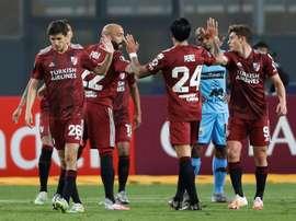 Sigue el directo del River Plate-Liga de Quito. EFE