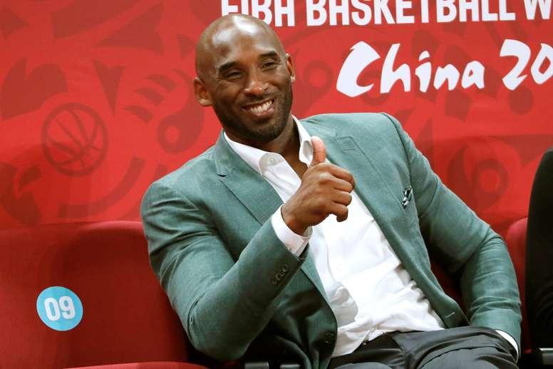 En la imagen, el exbaloncestista estadounidense Kobe Bryant, fallecido en enero de este año. EFE/Juan Carlos Hidalgo/Archivo