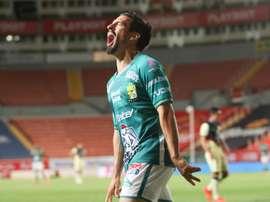 León suma seis victorias consecutivas. EFE