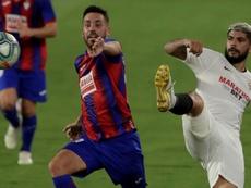 El Eibar solo ha conseguido empatar en el feudo sevillista. EFE