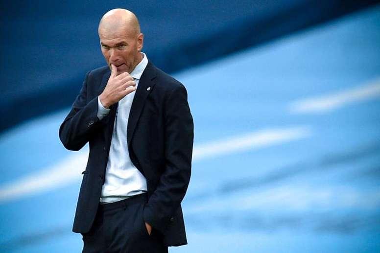 El devenir del 'Clásico' podría afectar a Zidane. EFE