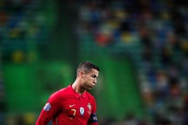Governo da Itália volta a atacar Cristiano Ronaldo. EFE/EPA/MARIO CRUZ