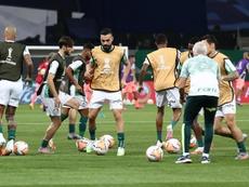 Palmeiras cerrará la fase de grupos recibiendo a Tigre. EFE/Archivo