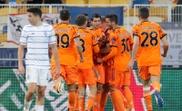 Juventus vence na estreia de Pirlo como técnico em Champions. EFE/EPA/SERGEY DOLZHENKO