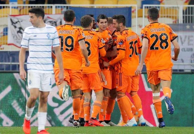 Entrée réussie pour la Juve de Pirlo face à Kiev. EFE