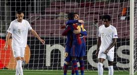 El Barça machacó al Ferencvaros. EFE