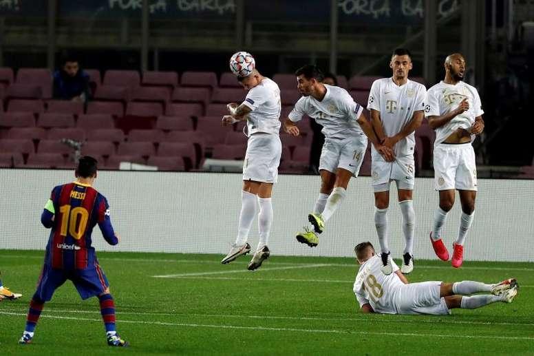 El Ferencvaros se da una alegría tras la Champions. EFE