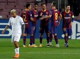 Les compos probables du match de Ligue des champions entre Ferencvaros et le Barça. EFE