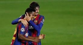 Le Barça se remet sur de bons rails avant le Clasico. AFP