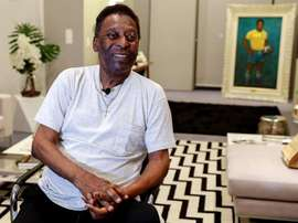 Pelé agradeció su estado de lucidez a Dios antes de cumplir 80 años. EFE/Sebastiao Moreira/Archivo