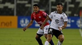 Colo-Colo ha ganado cuatro partidos en 20 jornadas. EFE