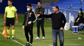 El Valladolid no duda de su técnico. EFE