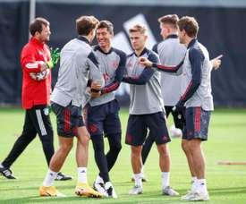 Ningún jugador más del Bayern dio positivo. EFE