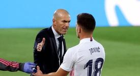 Jovic y Odegaard alegran la vida a Zidane. EFE