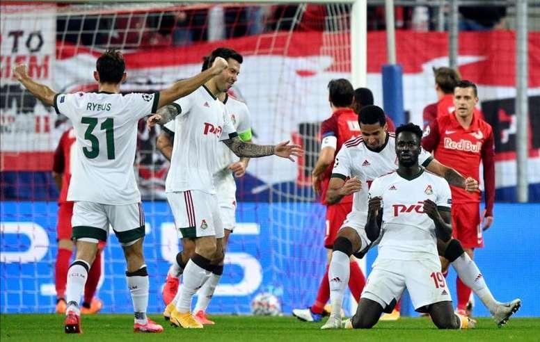 El Salzburgo aniquiló al Lokomotiv. EFE