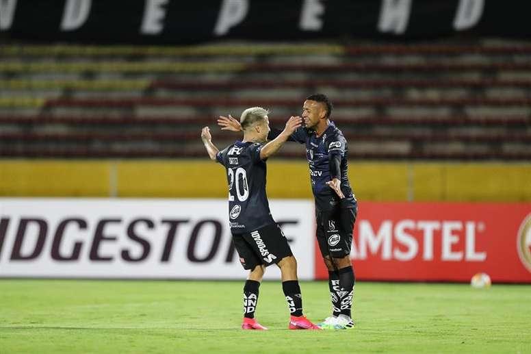 Independiente del Valle pasa como segundo de grupo. EFE