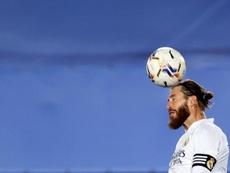 Ramos entrenó al margen a dos días del 'Clásico'. EFE/Archivo
