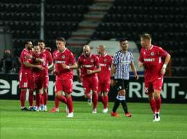 PAOK y Omonia empataron a un gol en el Toumba. EFE/EPA