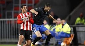 El Granada venció al PSV en Eindhoven. EFE/EPA/MAURICE VAN STEEN