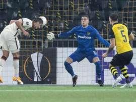 La Roma remontó al Young Boys en Europa League. EFE/EPA/PETER SCHNEIDER