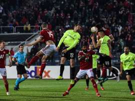 El Cluj venció por 0-2 al CSKA Sofia. EFE/EPA/BORISLAV TROSHEV