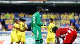El Nápoles ha sido el protagonista del primer traspié de la Europa League. EFE/EPA