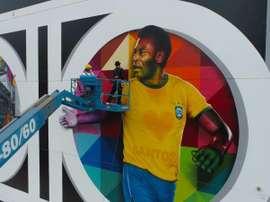 El jugador que puso a Brasil en el mapa. EFE/Felipe del Valle