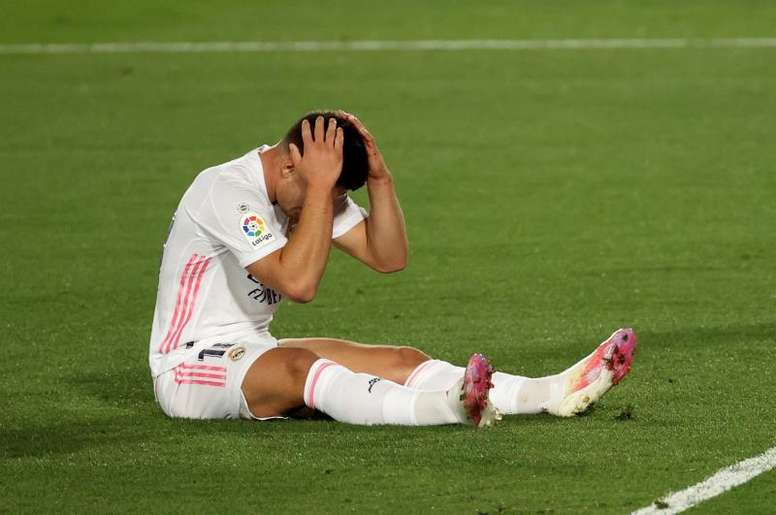 Jovic is reportedly thinking about leaving Madrid. EFE
