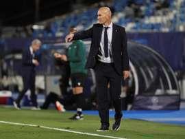 Les derniers mots de Zidane. EFE
