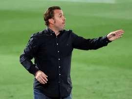 Sergio destacó el partido de su equipo, pero le exigió más. EFE