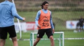 Cavani va faire ses débuts avec Manchester United. EFE