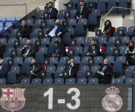 Barcelona complained to the Spanish FA head. EFE
