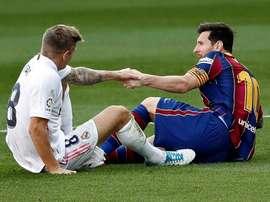 Messi se volvió a ir de vacío. EFE