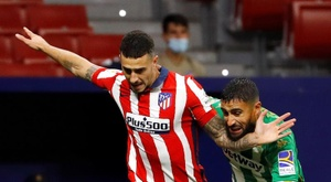 Mario Hermoso is ready to face off against Valencia. EFE
