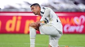 Cristiano não vai encarar o Barcelona nessa quarta-feira.  EFE/EPA/FEDERICO PROIETTI/