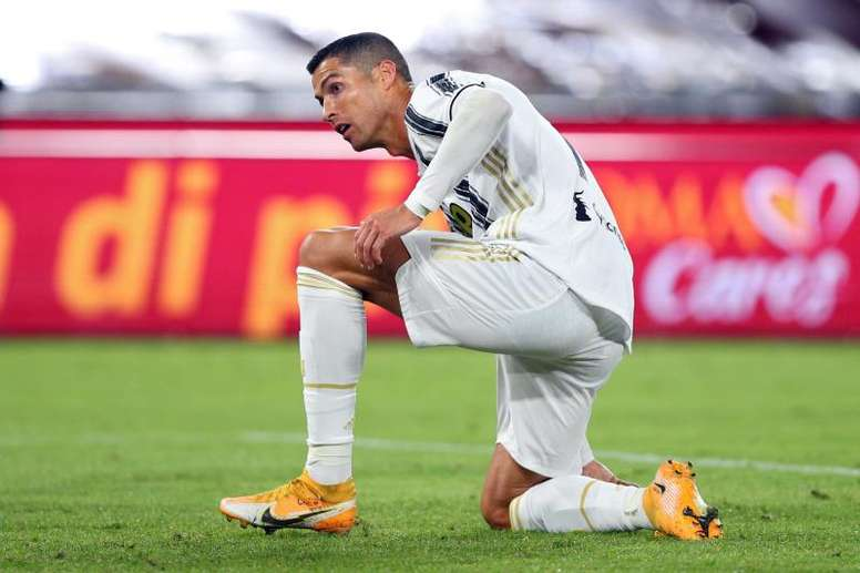 Cristiano Ronaldo will miss Juventus' match with Barca. EFE