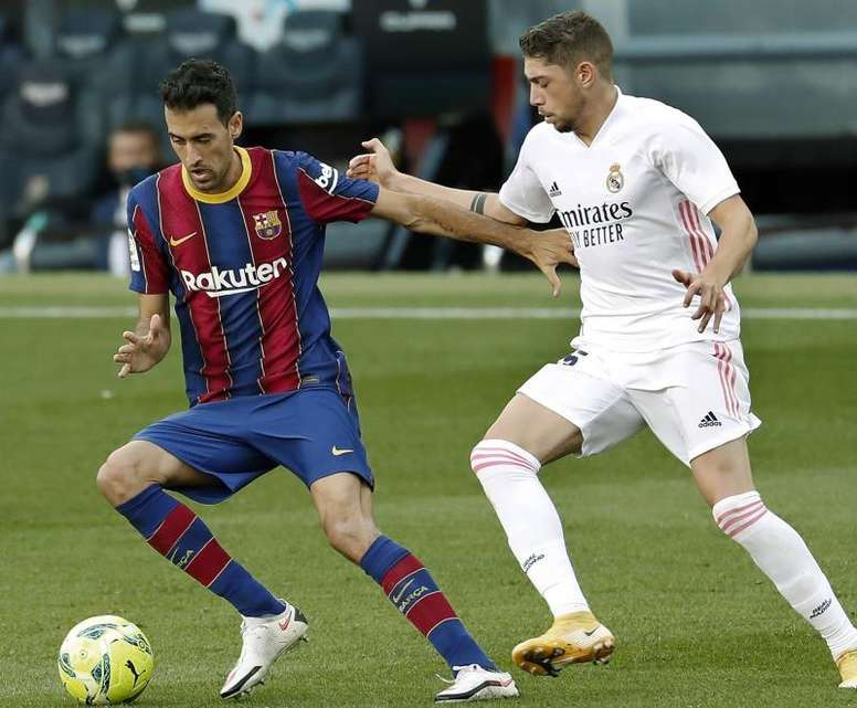 Busquets could make the Osasuna game. EFE