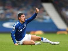 James, titular ante el Southampton. EFE